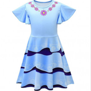 Fancy Nancy Blue Dress Costume