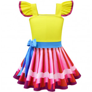 Fancy Nancy Yellow Fairy Dress Costume
