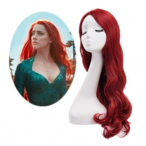 Mera Cosplay Costume Queen Atlanna Aquaman Wig