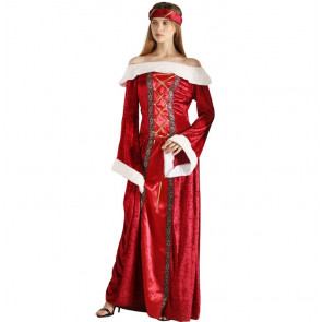 Women Medieval Queen Costume