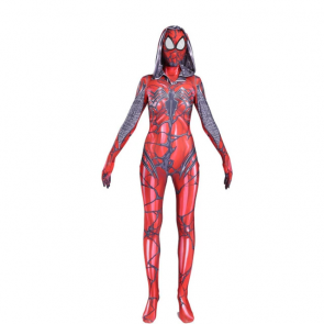 Carnage Gwen Spider Female Cosplay Costume
