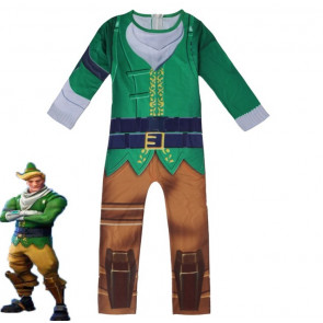 Fortnite Codename Elf Cosplay Costume