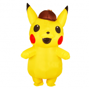 Inflatable Detective Pikachu Costume