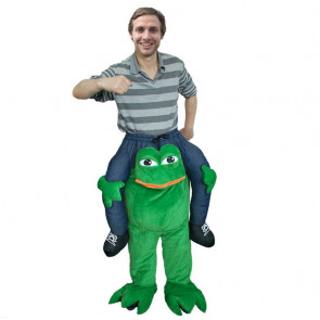 Inflatable Pepe The Frog Costume