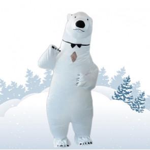 Inflatable Polar Bear Costume