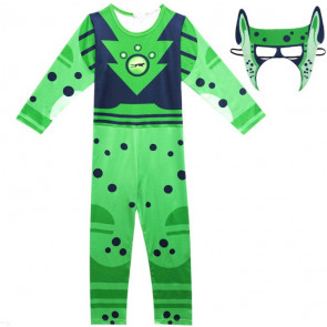 Wild Kratts Green Cheetah Boys Costume