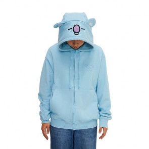 Koya BT21 Official Costume Hoodie Zip Up Hoody Cosplay