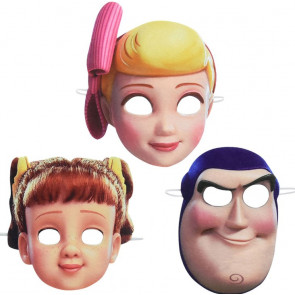 Toy Story Set Of 5 Masks From Toy Story 4