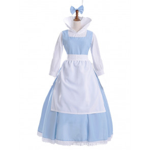 Classic Blue Belle Cosplay Costume
