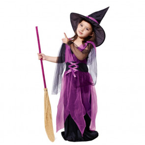 Girls Complete Witch Costume