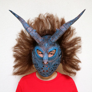 Erik Killmonger Tribal Mask Costume