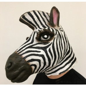 Zebra Mask Costume