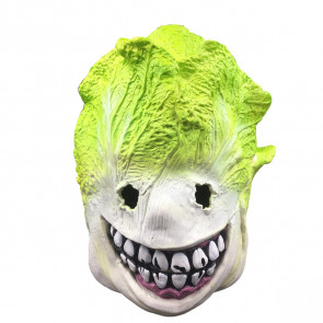 Cabbage Monster Face Mask Costume