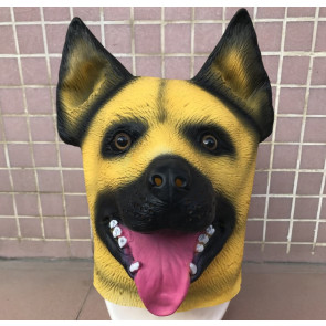 Dog German Shepard Mask Costume