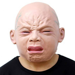 Crying Baby Mask Costume
