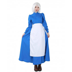 Sophie Hatter Cosplay Costume Dress