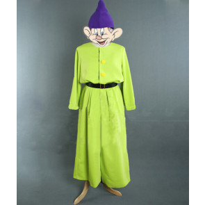 Dopey Snow White and The Seven Dwarfs Cosplay Costume
