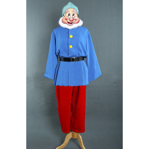 Doc Snow White and The Seven Dwarfs Cosplay Costume