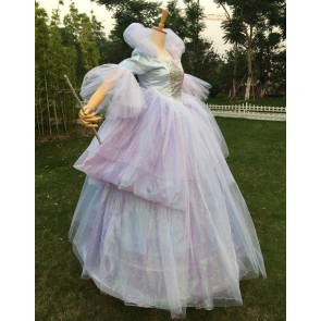Girls Fairy Godmother New Cinderella Cosplay Costume