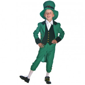 Boys Leprechaun Costume Green