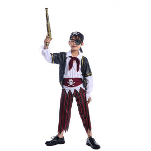 Boys Pirate Deluxe Costume