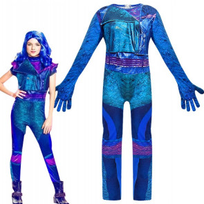 Disney Evie Classic Descendants 2 Costume Blue