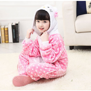 Kids Hello Kitty Onesie Jumpsuit Costume