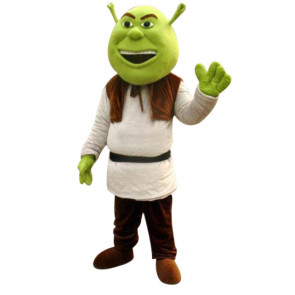 Giant Shrek Mascot Costume
