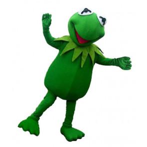 Giant Kermit the Frog Mascot Costume