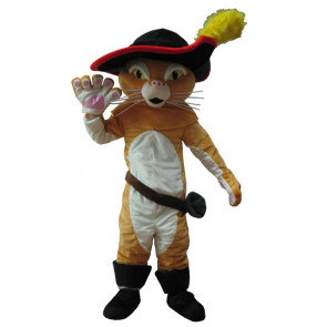 Giant Puss in Boots Mascot Costume