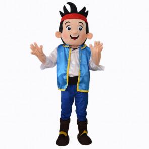 Giant Captain Jake Mascot Costume