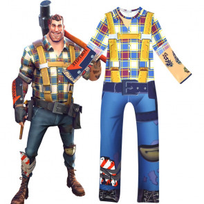 Fortnite Constructor Cosplay Costume