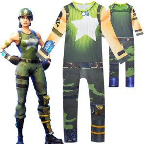Fortnite Female Soldier Cosplay Costume