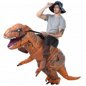 Realistic Riding Dinosaur