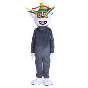 Giant King Julian Mascot Costume
