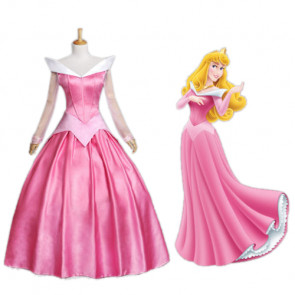 Sleeping Beauty Aurora Cosplay Dress