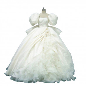Enchanted Giselle White Dress