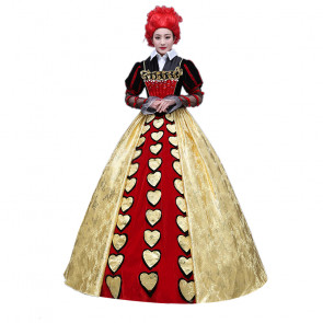 Queen of Hearts Cosplay Costume Dress