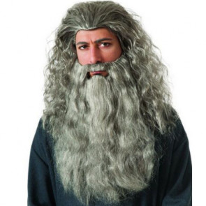 Gandalf Wig and Beard Cosplay Costume