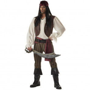 Complete Pirate Cosplay Costume