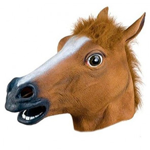 Horse Head Cosplay Costume Mask