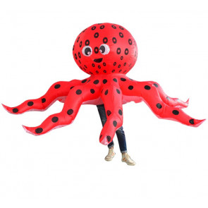 Giant Inflatable Ocotpus Costume