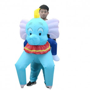 Giant Inflatable Riding Dumbo Costume