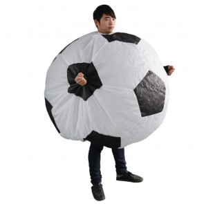 Giant Football Soccer Ball Inflatable Costume