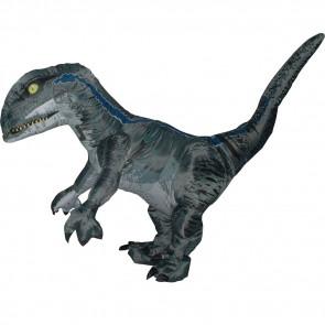 Jurassic World Blue Velociraptor Inflatible Costume
