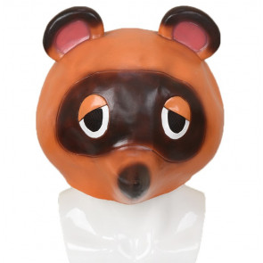 Tom Nook Animal Crossing Cosplay Costume Mask