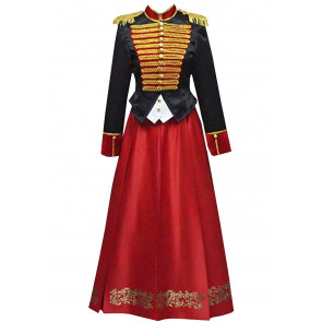 Clara The Nutcracker and the Four Realms Soldier Cosplay Costume