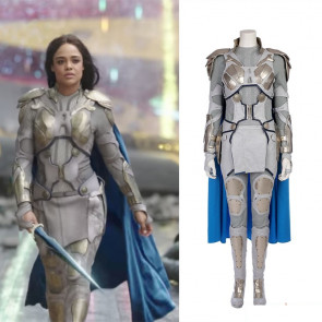 Thor Ragnarok Valkyrie Deluxe Cosplay Costume