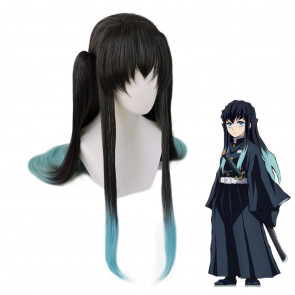 Demon Slayer Tokitou Muichirou Wig