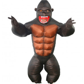 Giant Gorilla Inflatable Costume